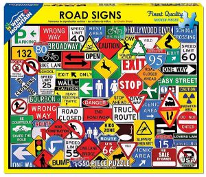 Road Signs 550 piece jigsaw puzzle 610mm x 450mm  (wmp)
